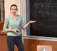 Cathy Swaenepoel, lauréate du prix de thèse Blaise Pascal 2020
