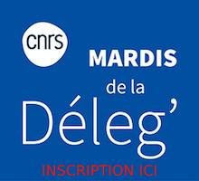"""Le CNRS propose une rencontre """"Mes premiers pas pour valoriser mes travaux de recherche"""" le mardi 1er juin 2021, dans le cadre des Mardis de la Déleg'"""