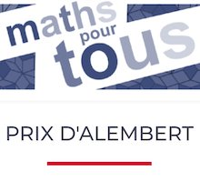 Le prix d'Alembert 2014 décerné  à l'association Maths pour Tous