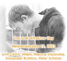 La journée de solidarité pour la libération d'Azat Miftakhov, jeune mathématicien russe emprisonné depuis février 2019, se tiendra Mercredi 16 juin 2021 à partir de 16h