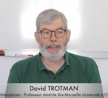 Interview de David Trotman, à l'occasion de son départ à la retraite